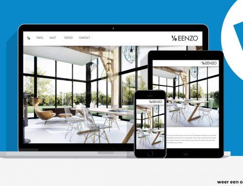 EENZO de nieuwe website